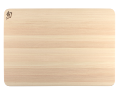 DM0819 Shun Large Hinoki Cutting Board with Juice Groove