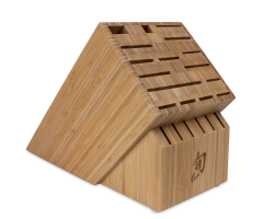 DM0832 Shun 22–Slot Bamboo Block