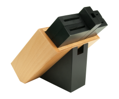 DM0836 6 Slot Beech Modular Knife Block