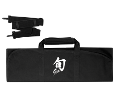 DM0880 Shun 8–Slot Knife Roll (Black)