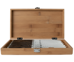 TDMS0600 Premier 6pc Steak Set with Bamboo Box