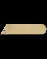 BG0701 Medium Universal Saya Blade Guard Wood